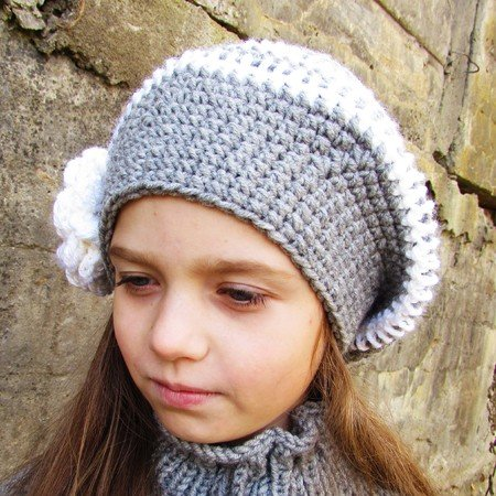 Crochet hat pattern, size for toddler, child, adult