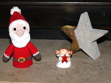 glowing santa crochet pattern in english