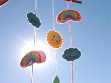 Mobile/Wall hanging - Sunny day