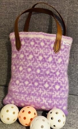 Strickanleitung Handtasche filzen