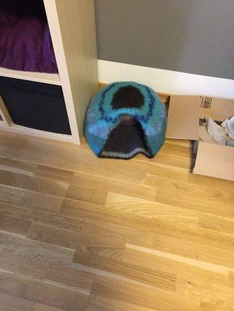 Häkel Filz Katzenhöhle Katzenkorb Kuschelhöhle