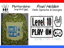 Plotterdatei ☆ Pixel Helden und Co.