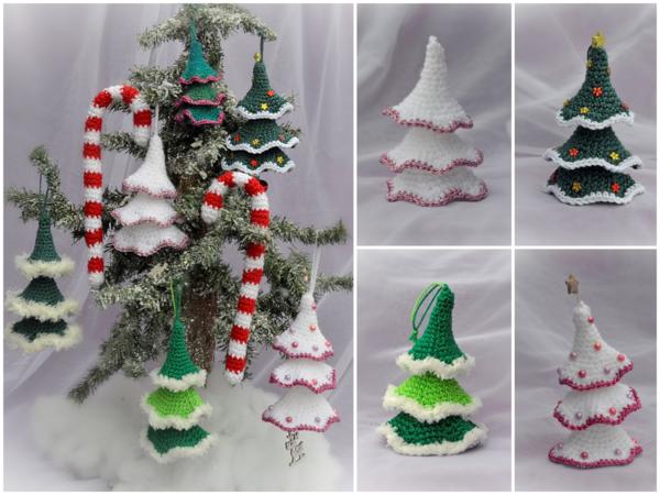 Wackelbaumchen Und Zuckerstange Anhanger Tannenbaum