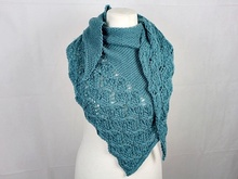 "Knitting pattern shawl ""Happy Moments"""