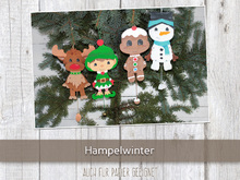 Bastelanleitung - Hampelwinter Bundle