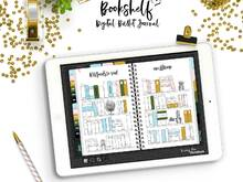 Bullet Journal Bookshelf for your Digital Planner (GoodNotes)