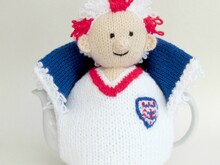 England Football Crazy Tea Cosy