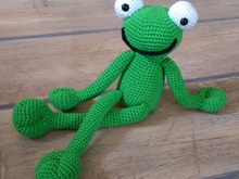 Crochet Pattern Froggy