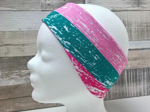 Stirnband Pande Nähanleitung und Schnittmuster, Kopfumfang 49-63 cm