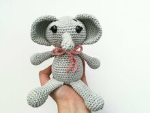 Elli the Elephant - Crochet Pattern