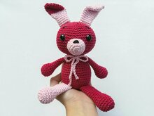 Hanna the rabbit - Crochetpattern