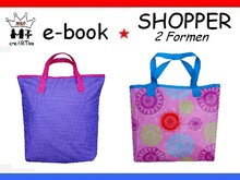 Nähanleitung ☆ Shopper