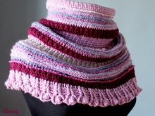"Cowl Neck Warmer ""Tulip"""