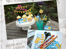 "DIY - Partydekoration ""Sonne"""
