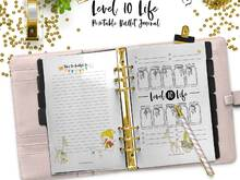 Bullet Journal Gratitude Log Level 10 Life for your digital Planner