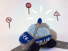 Crochet Pattern for toy policecar
