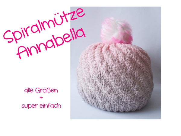 Annabella - super easy hat - all sizes