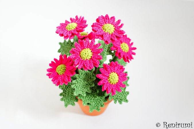 Crochet pattern Chrysanth