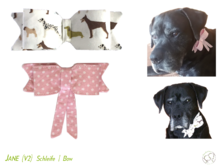 Jane Bow for Dog Collar in 3 sizes Sewing Pattern