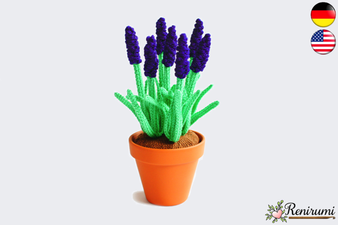 Crochet pattern Grapy Hyacinth