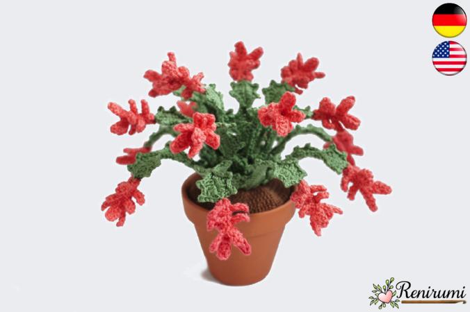 Cactus Crochet PATTERN Amigurumi cactus DIY tutorial crochet | Etsy | 450x676