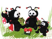 Ladybug - Family Pattern Amigurumi PDF Deutsch - English