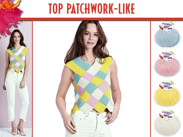 TOP PATCHWORK-LIKE
