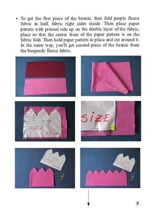 df51c7703661d reversible winter fleece hat PDF pattern