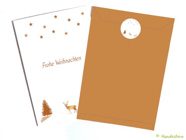 photo relating to Printable Christmas Envelopes referred to as 9x Xmas Card + Envelope Reindeer. Printable