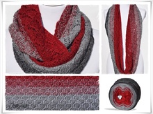 Strickanleitung, Loop, Red Christmas