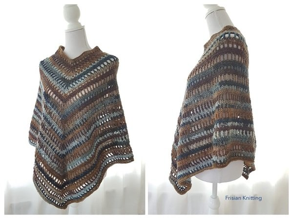 Crochet Pattern Boho Poncho