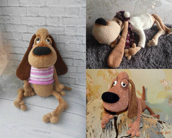 11 Amigurumi Dog Crochet Patterns – Cute Puppies - A More Crafty Life | 450x562