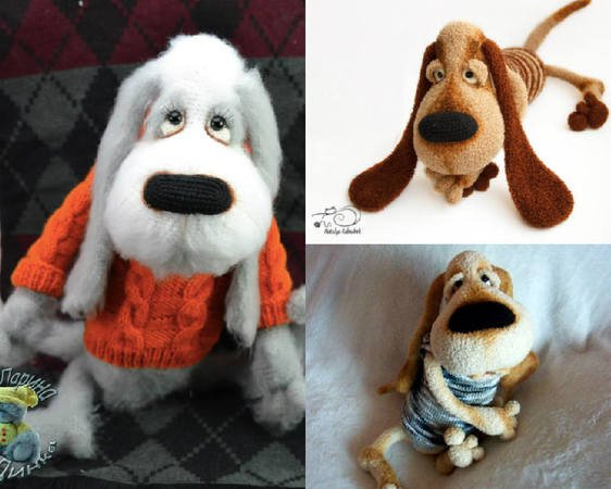 Dog in Sweater Amigurumi Doll: Free Crochet Pattern! | Crochet ... | 450x562
