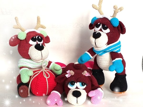 "Crochet Pattern ""Marry the Moose Girl"""