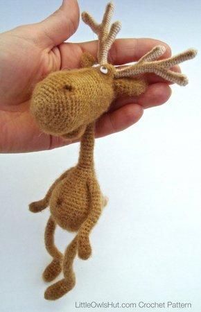 Noel the Amigurumi Reindeer | PDF Crochet Pattern – AiraliDesign | 450x290