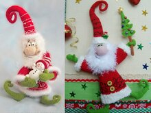 036 Crochet Pattern - Santa Claus, Father Frost, Father Christmas - Amigurumi PDF file by Borisenko