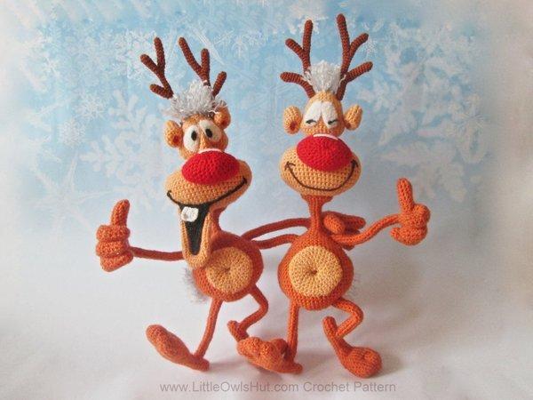 Reindeer crochet tutorial - YouTube | 450x600