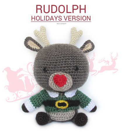 Rudolph reindeer - Holidays version/Winter version