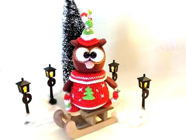 "Crochet Pattern ""Qwl"" The Christmas- Elf"