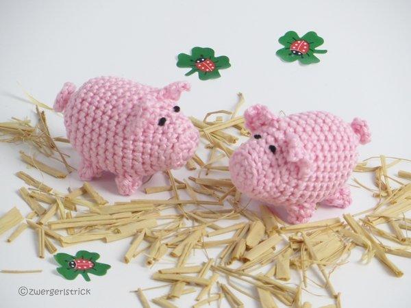 Schweinchen Häkeln Tiere Häkeln Deko