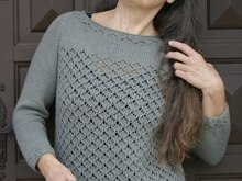 "Strickanleitung Pullover ""Chatelus"""