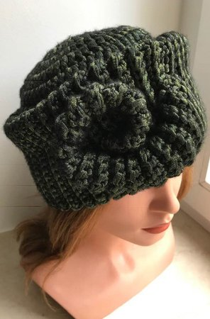 Hat with Spiral