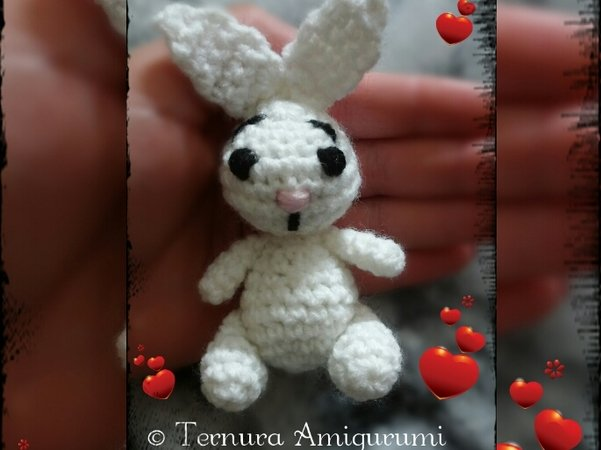 Bubble the Little Bunny Amigurumi Crochet Pattern - English, Dutch ... | 450x601