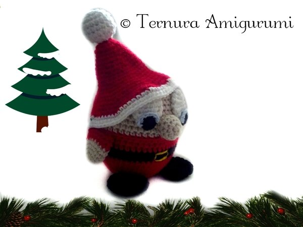 Crochet Pattern Santa Claus PDF english - deutsch - dutch