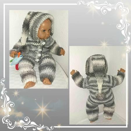 Baby Overall Häkeln Puppen Overall Häkeln