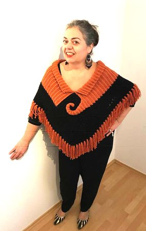 Poncho SCROLL