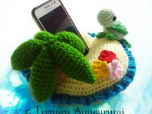 Island crochet pattern PDF english ternura amigurumi