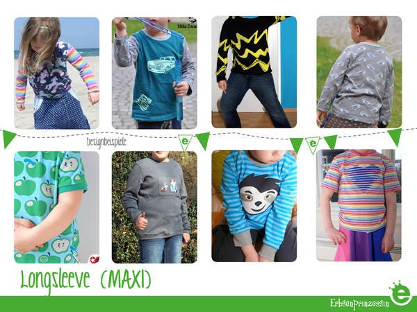 Longsleeve for kids • sizes EU 74-170 • US 9M to 15