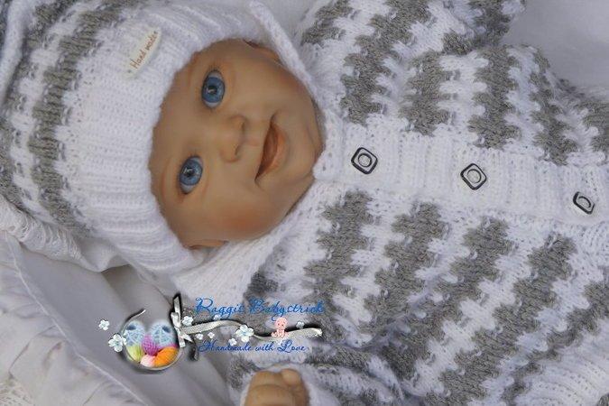Strickanleitung für Babys /& Reborns Heide Gr.50-56