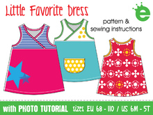 Little Favorite Dress • sizes US 6M - 12, EU 68 - 152